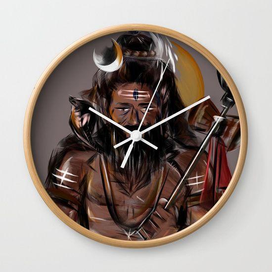 Shiva Wall Clock Wall Clock Clock Shiva