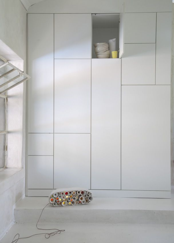 I Like The Asymmetry Here. Wardrobe IdeasWardrobe DesignWhite CabinetsWall  ...