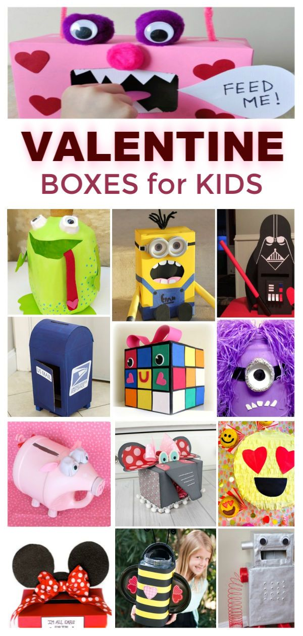 Valentines Boxes for Kids