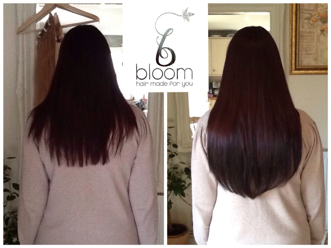 Full Head Chocolate Brown Bloom Trimmed To 19 100 Damage Free