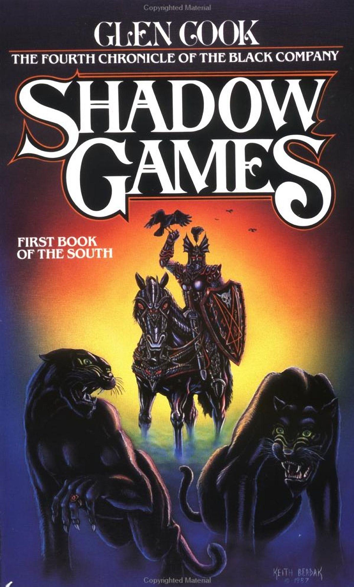 Shadow Games Glen Cook Black company, Shadow, Books
