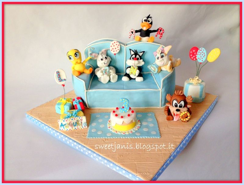 Baby Looney Tunes Cake   The Cake Lovers