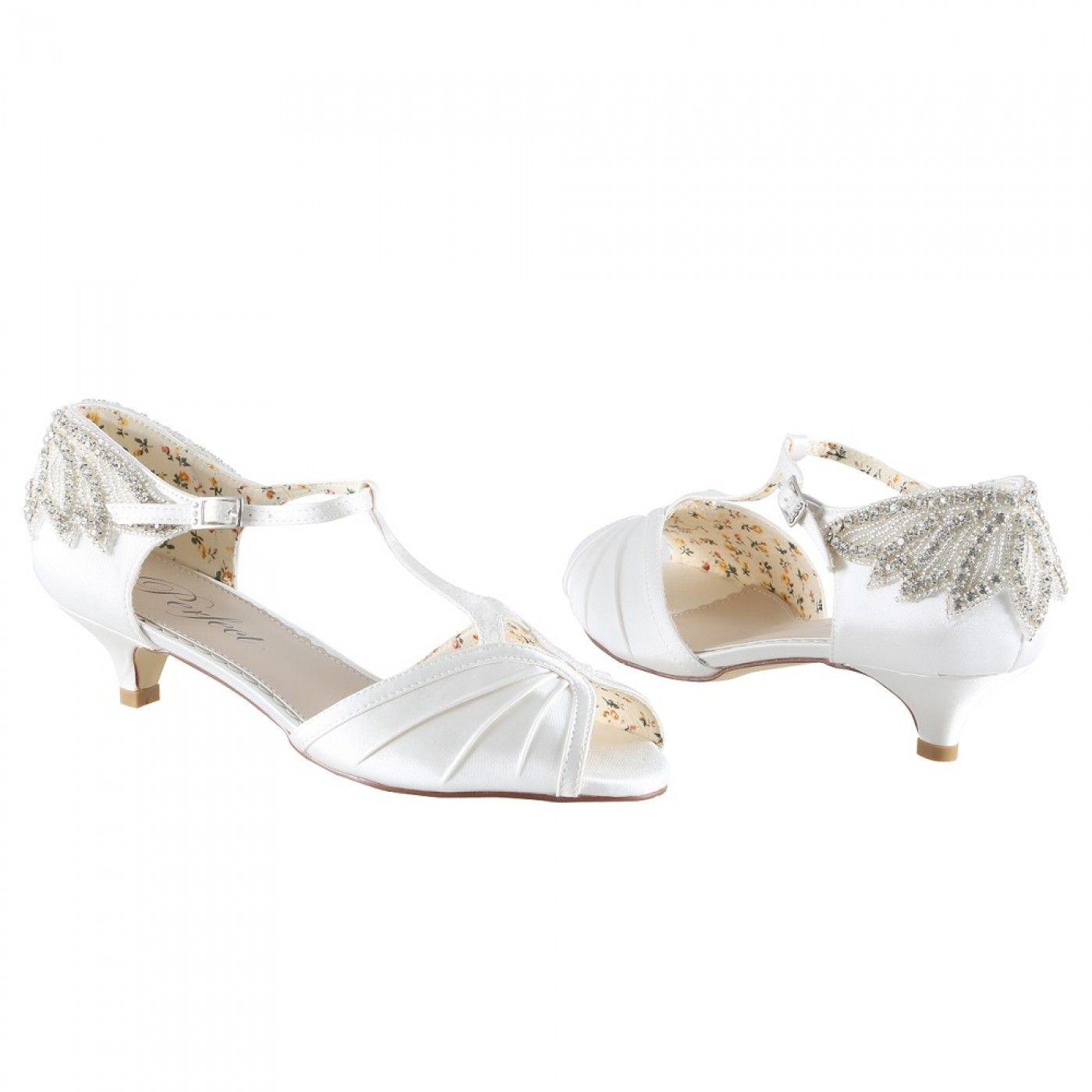 42++ Wedding kitten heels ivory ideas