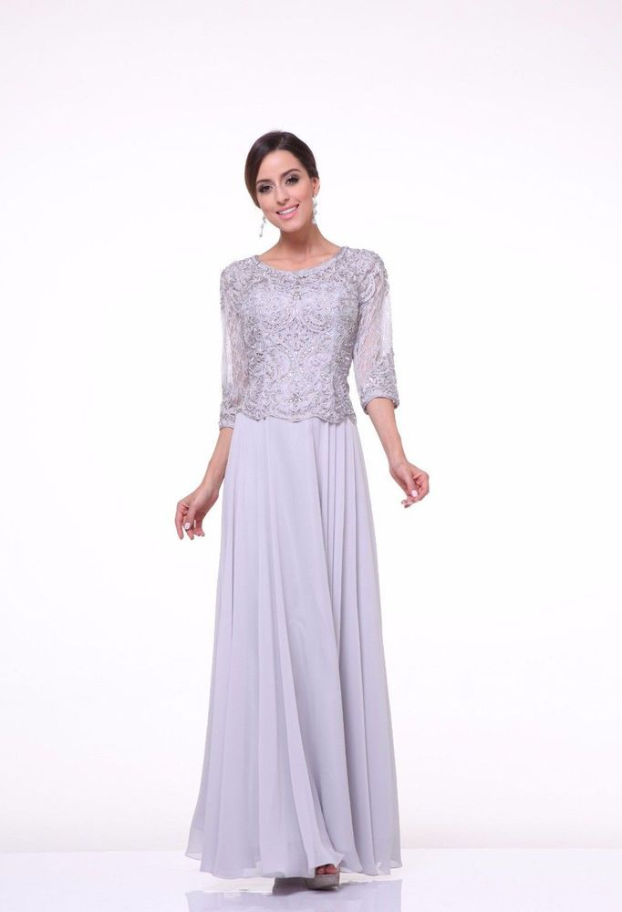 1d978353b71 Modest Elegant Mother of the Bride Dress Lace Hijab Sleeves Plus Size  Designer  ThedressoutleT  Formal