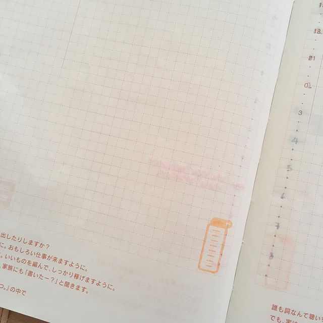 Created water tracker and time ladder. Love those stamps! 😍 #planneraddict #hobonichitechoavec #studiol2e