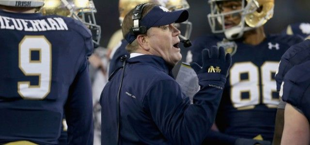 Notre Dame Fighting Irish Football Predictions and Preview: 2015-16 NCAA College Football Season