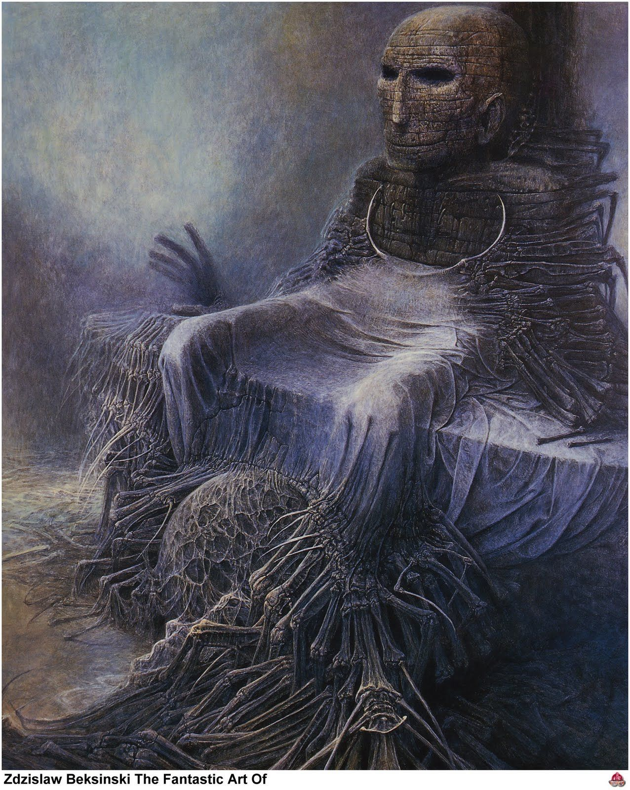 Metal Zdzislaw Beksinski Fantastic Realism