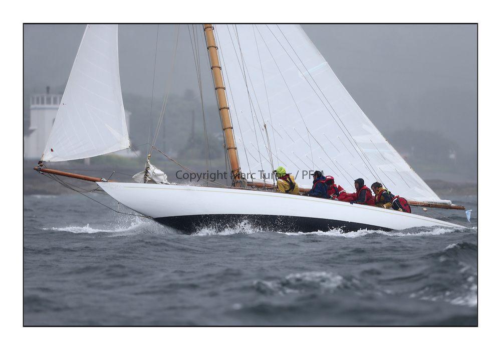 "8mR ""Truant"". The Fife Regatta 2013, Classic sailing on the Clyde"