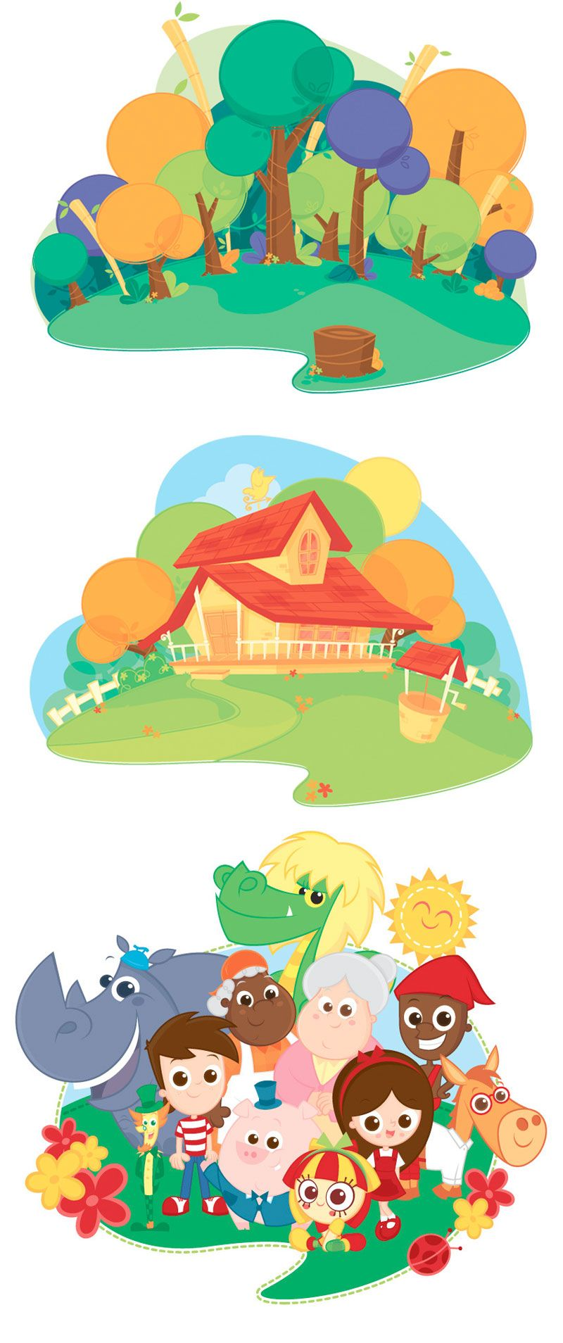 Sitio 04 Mais Sitio Picapau Amarelo Sitio Do Picapau Desenhos