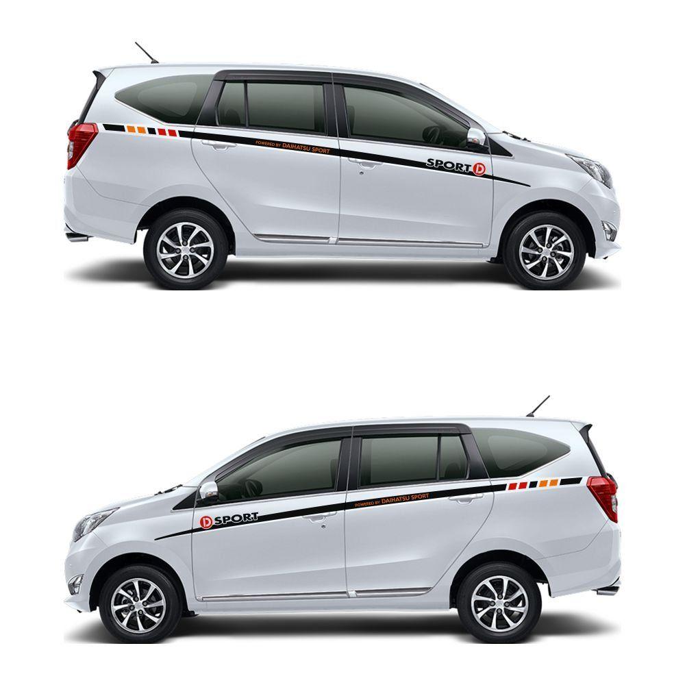 Modifikasi Mobil Sigra Warna Putih Modifikasi Mobil Mobil Daihatsu
