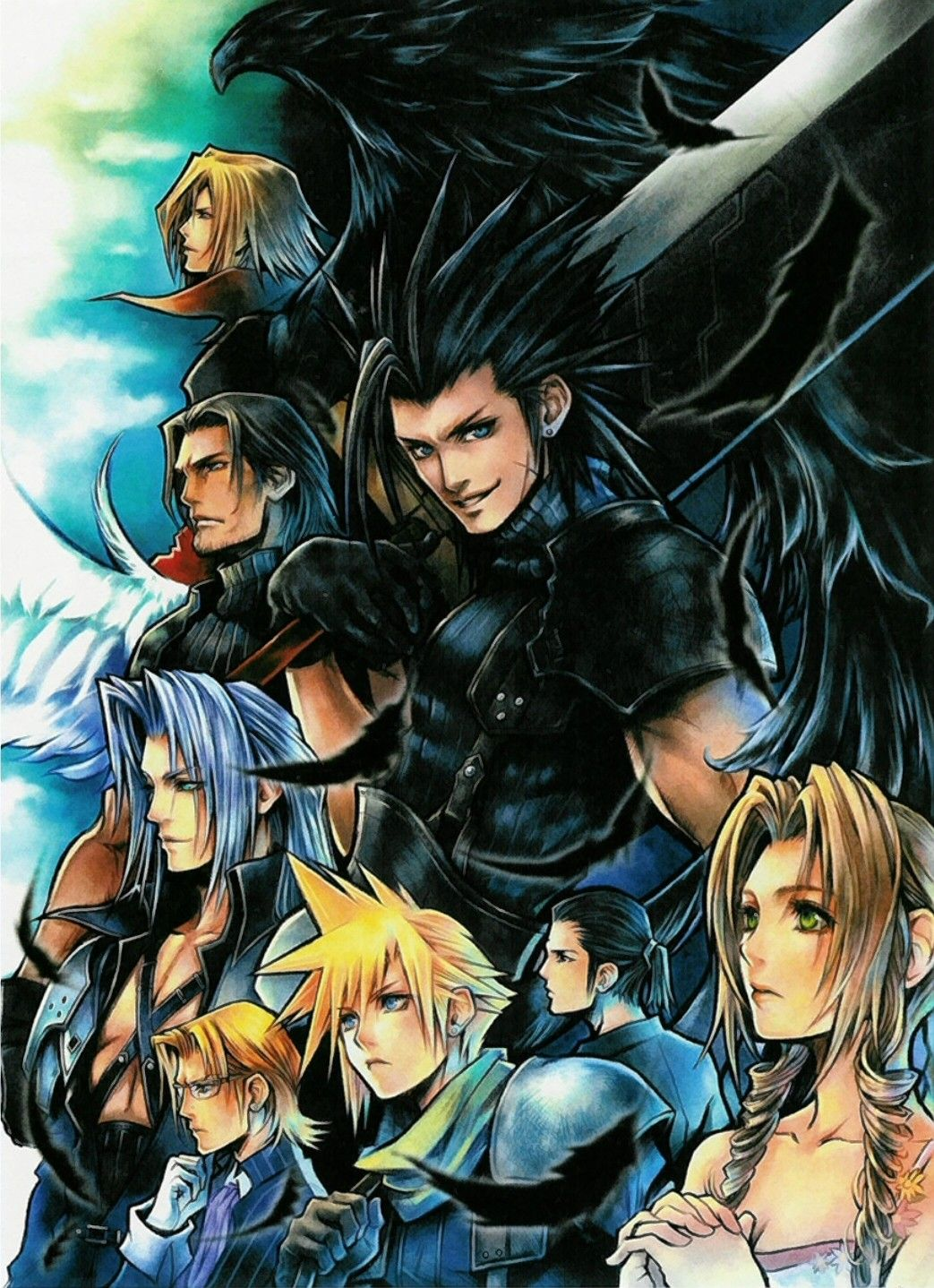 Final Fantasy Vii Mobile Wallpaper 32385 Zerochan Anime Image