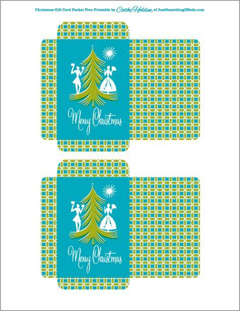 Christmas Packets by Cathe Holden JustSomethingIMade Free