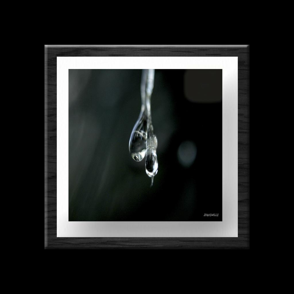 Gota Fotografia Enmarcada con Vidrio - Varios Colores | Cool y ...