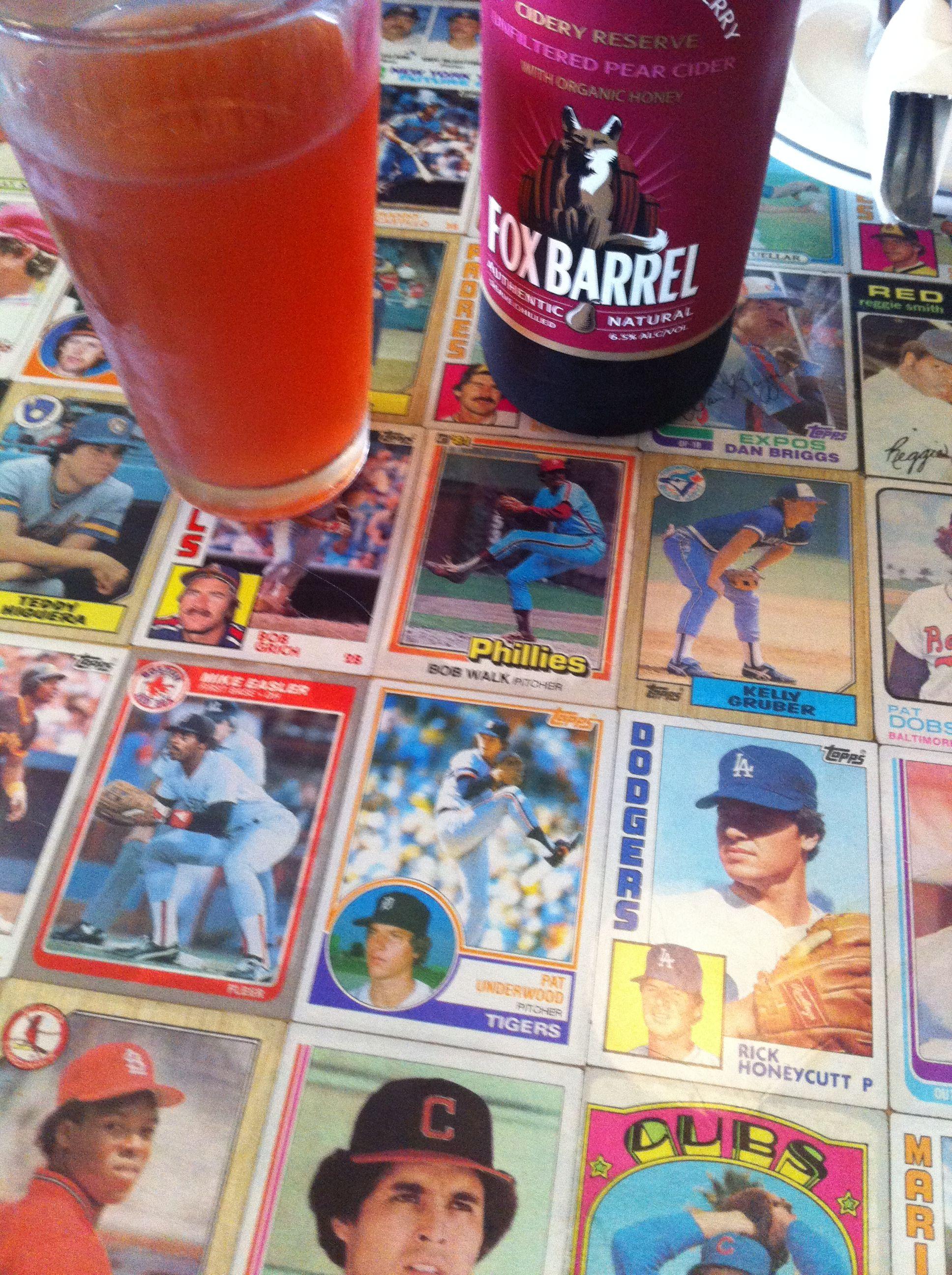 Baseball Card Bar Topwith The Baseball Bat Bar Sports Bar