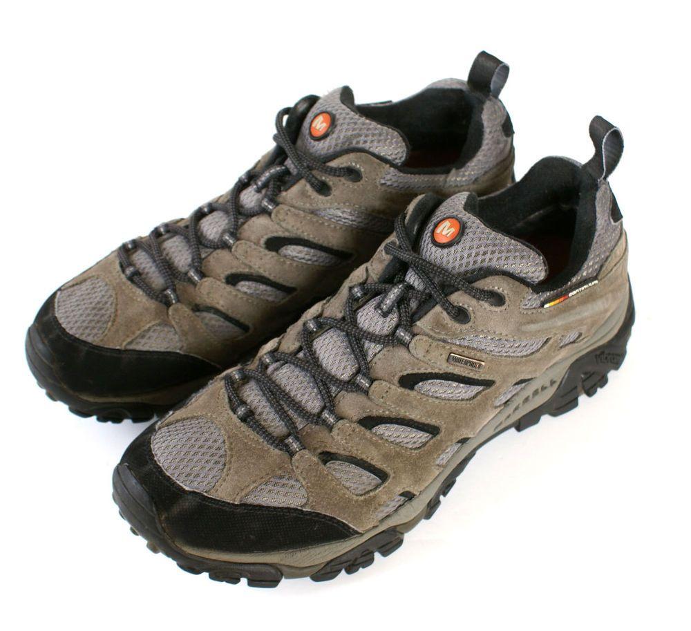 deb75d886c8 Men s Merrell Moab Ventilator Waterproof Hiking Trail Shoe Size 10.5 ...