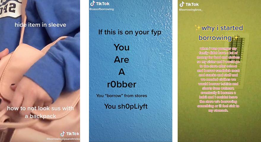 Tiktok Borrowing Videos Share Shoplifting Tips Stayhipp Shoplifting Tips The Borrowers Tips