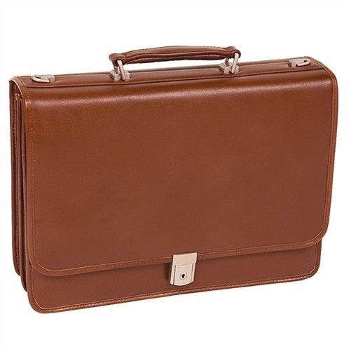 f75b31701b9f I m learning all about Mcklein McKlein USA V Series Lexington Leather  Double Compartment Briefcase at
