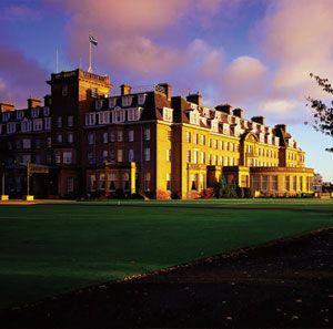 Luxury Hotels Scotland Scottish Golf Spa Hotel Gleneagles