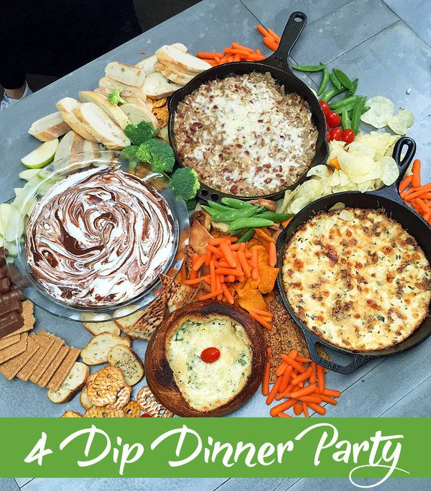 Interesting Dinner Party Ideas Part - 42: Tasty Four-Course Dip Dinner! Buzzfeed Recipes, Interesting Recipes, Dinner  Parties ...