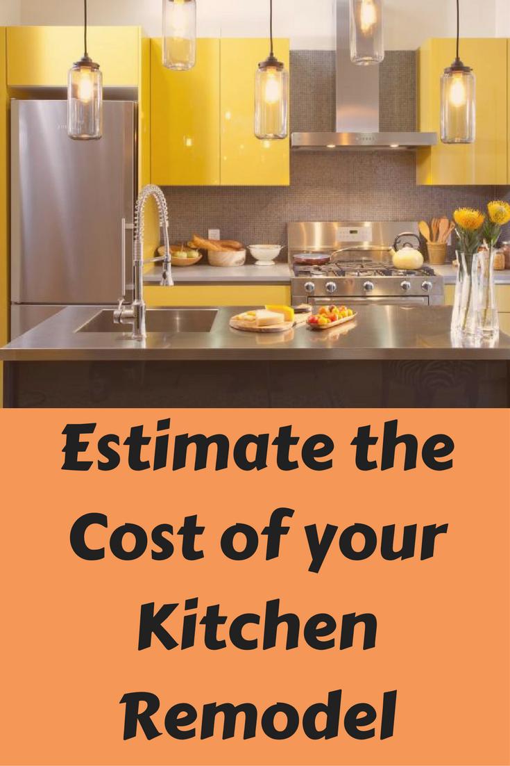 estimate the cost of your kitchen remodel estimate cost estimate