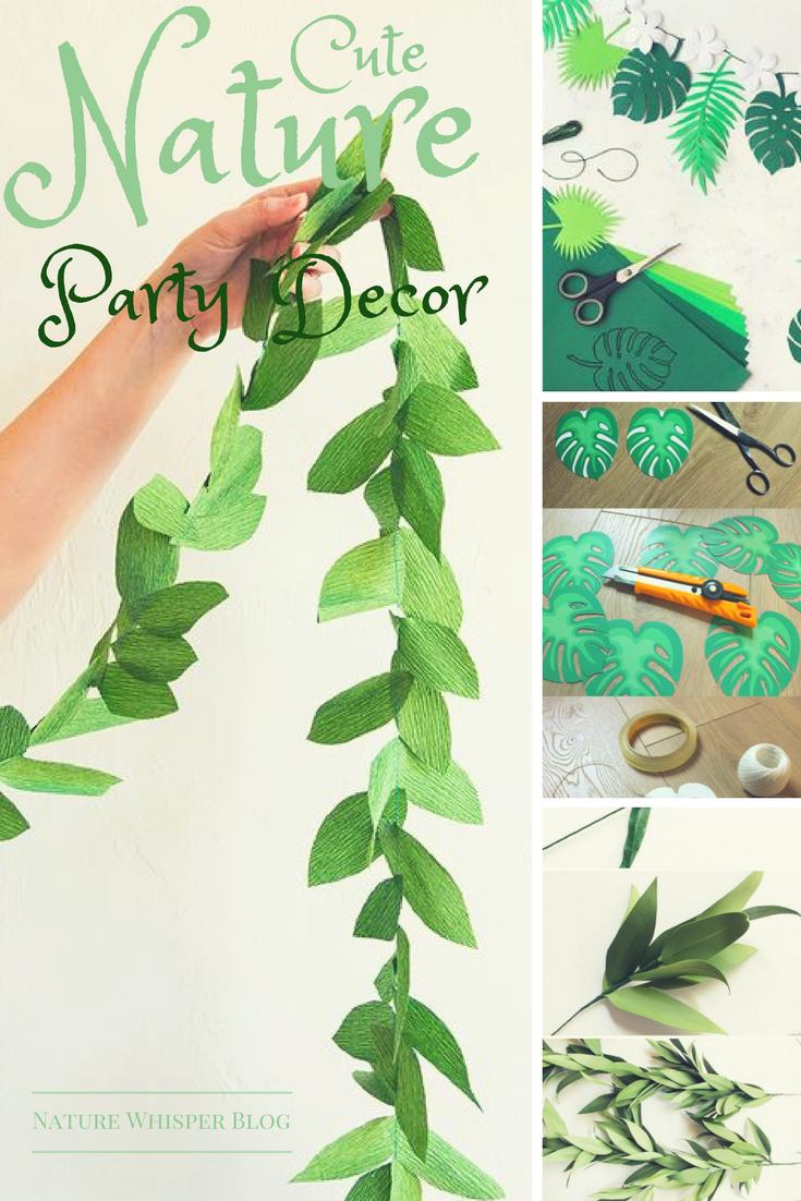 Events Craft: Free Nature Decor Printables