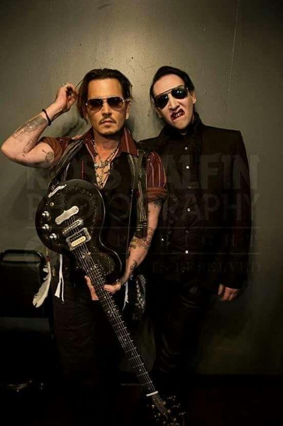 Pin By Melody Dodd On Johnny Depp Marilyn Manson Johnny Depp Manson