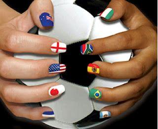 Uñas Decoradas Con Las Banderas Del Mundial Buscar Con Google