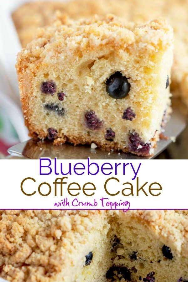 Tender Blueberry Coffee Cake loaded with fresh blueberries, with a hint of lemon and topped with a buttery sweet crumb topping. This delicious and moist coffee cake is perfect for breakfast served with a nice cup of coffee or served as dessert. cream