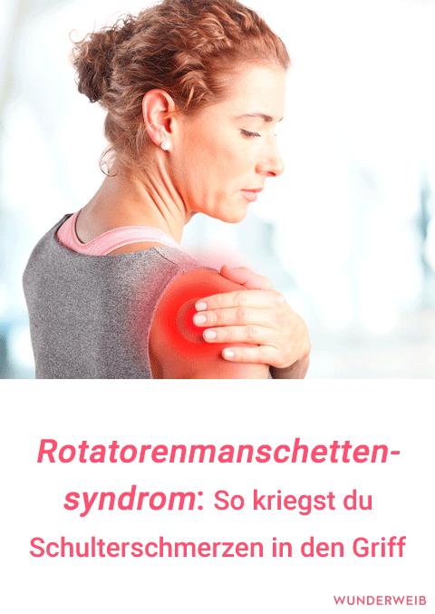 Rotatorenmanschettensyndrom: Aua, das schmerzt in der..