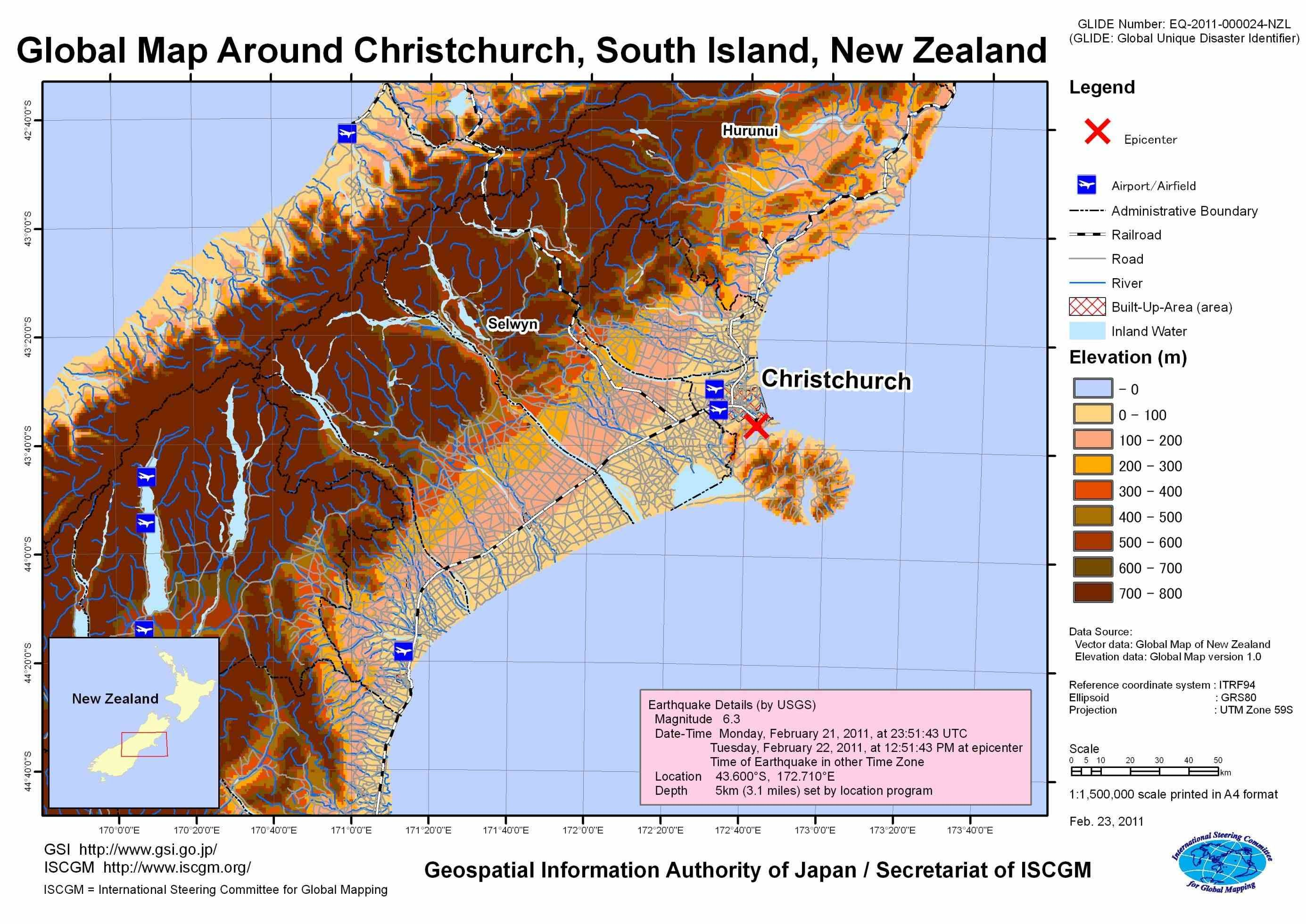 Find christchurch new zealand world map local b christchurch new find christchurch new zealand world map local businesses view s and get driving directions in google s christchurch new zealand earthquake gumiabroncs Gallery