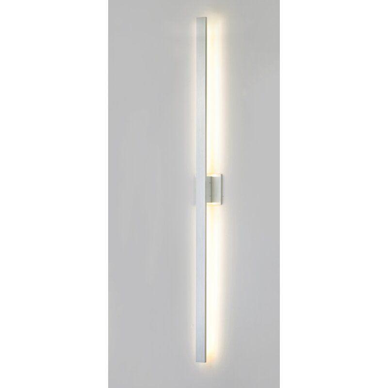 Brayden Studio Castanon 2 Light Led Outdoor Armed Sconce Wayfair Sconces Outdoor Wall Lighting Modern Sconces