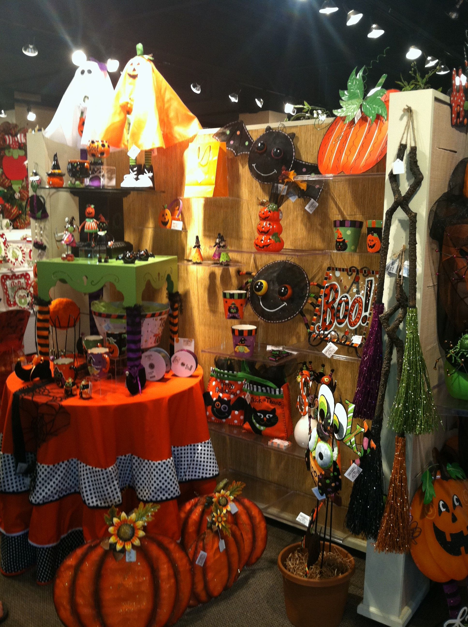 Halloween Display From Our Holiday Open House 2013 #Burtonandburton #