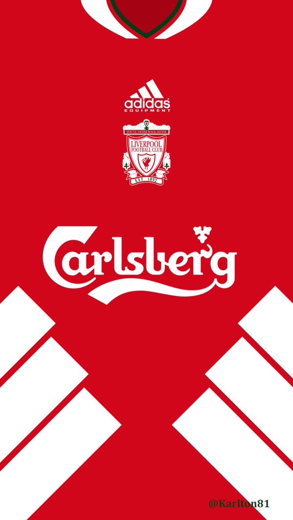 Image Result For Retro Liverpool Kit Wallpaper Sepak Bola Olahraga