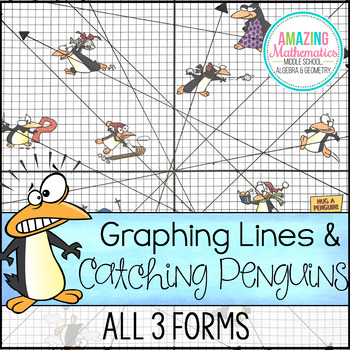 Graphing Lines Penguins All 3 Forms Penguins Graphing