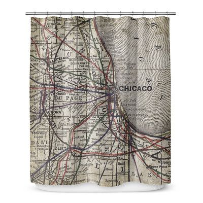 Kavka Chicago 90 Shower Curtain Curtains Shower Laundry In