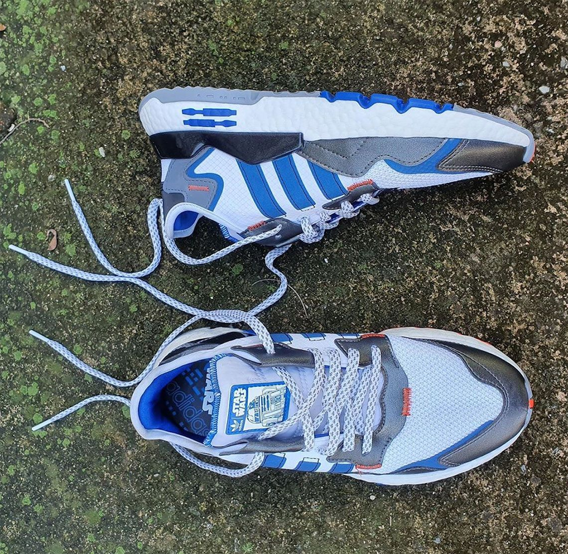 Star Wars adidas Nite Jogger R2D2 Release Info | Joggers