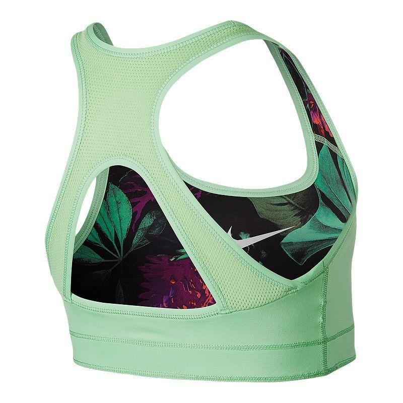 Nike Girls' Classic Glow Botanical Reverse AOP Bra Nikes