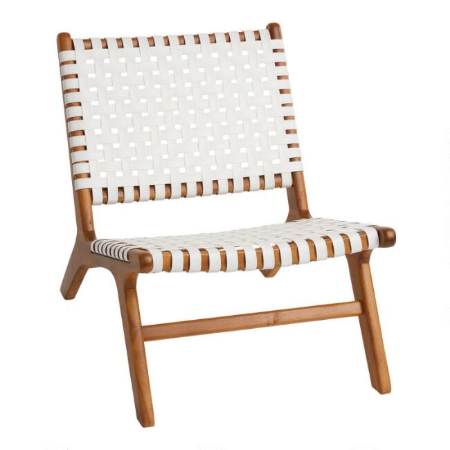 strap girona outdoor patio accent chair