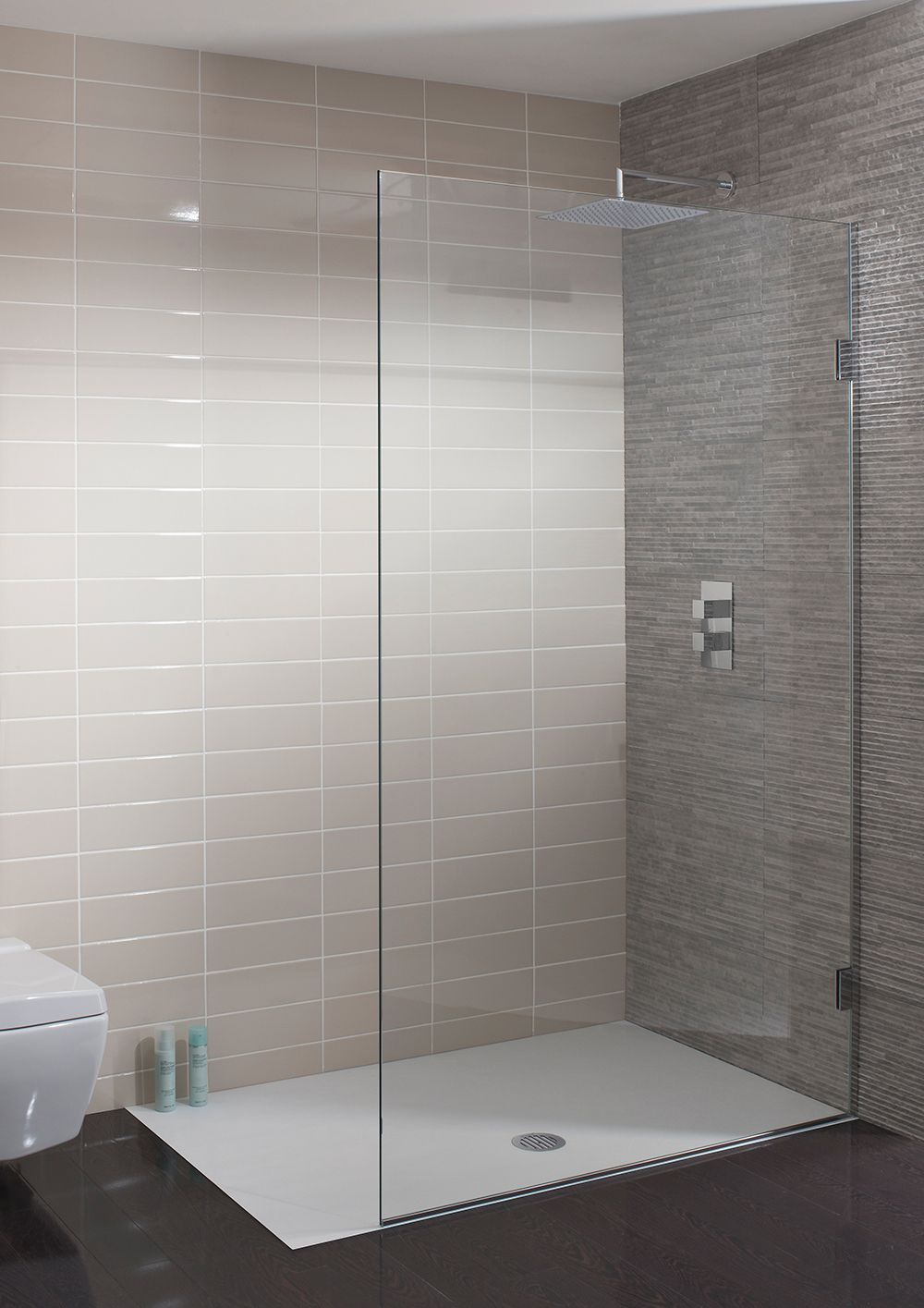 Ten 10mm single fixed panel in frameless simpsons for Bathroom enclosure designs