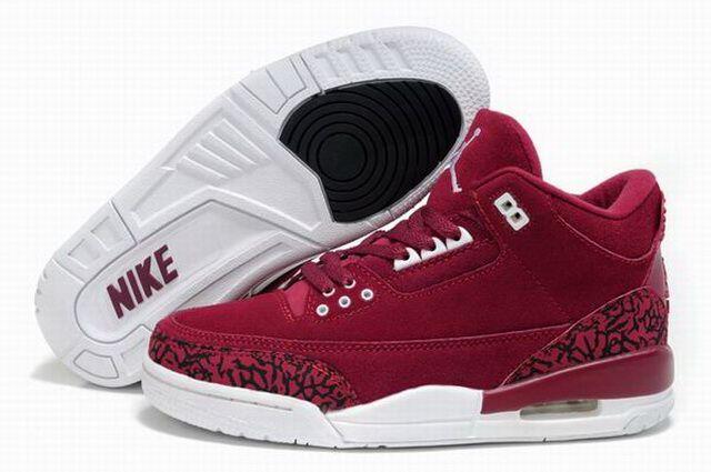 pretty nice f258c f0e8d Rabat Air Jordan 3 damskie buty czerwony biały Nike Jordan ID 436 -  315.47 zł  Buty Sportowe Nike-Buty Jordan,Buty Kobe,Buty Lebron, Buty  Sportowe ...
