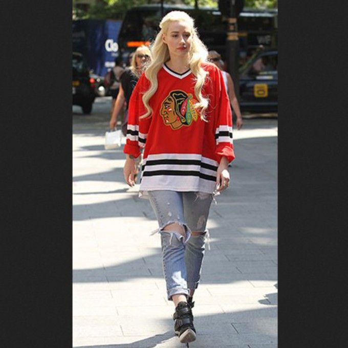 sneakers for cheap c1d5d 9fc61 Vintage Chicago Blackhawks Hockey Jersey #chicago ...