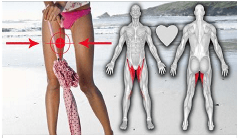 When It Comes To The Fat The Inner Thigh Fat Is The Biggest Enemy