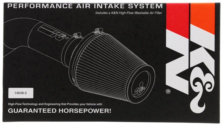57 2552 K N Performance Air Intake System Cold Air Intake Air Filter Material Cold Air