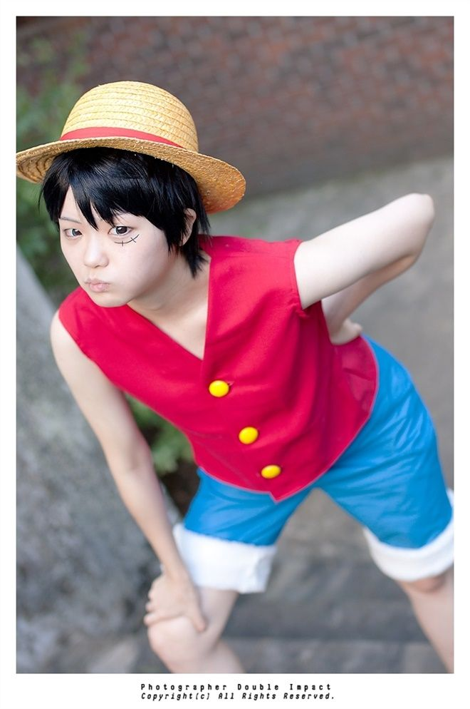 Mixrabbit(Rabbitchip) Monkey D. Luffy Cosplay Photo