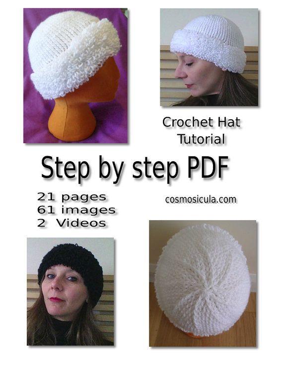 Pattern Tutorial Pdf Uncinetto per il mio Cappello di Cosmosicula
