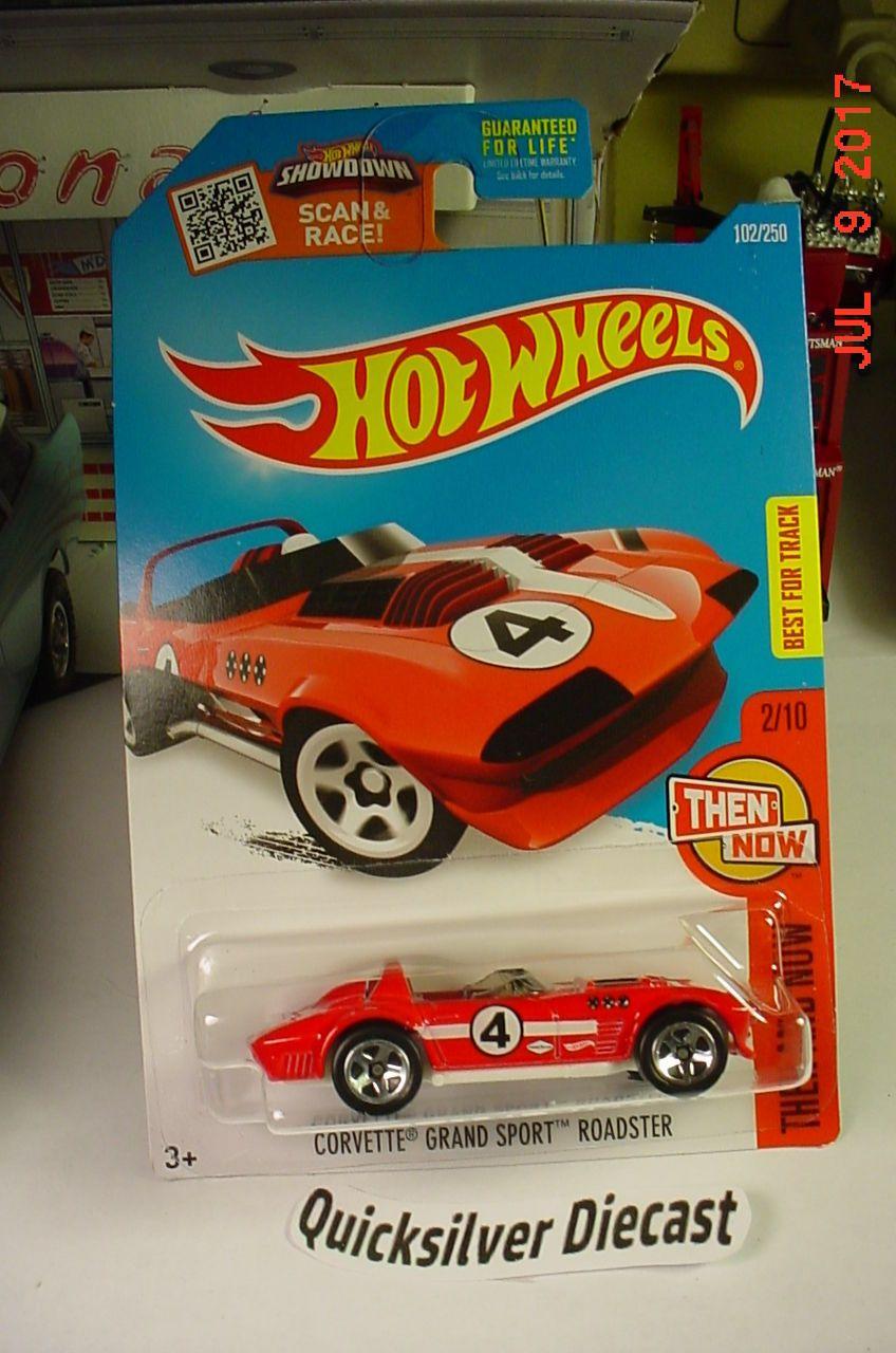 Hot Wheels 63 Corvette Grand Sport Roadster Red 2016 102