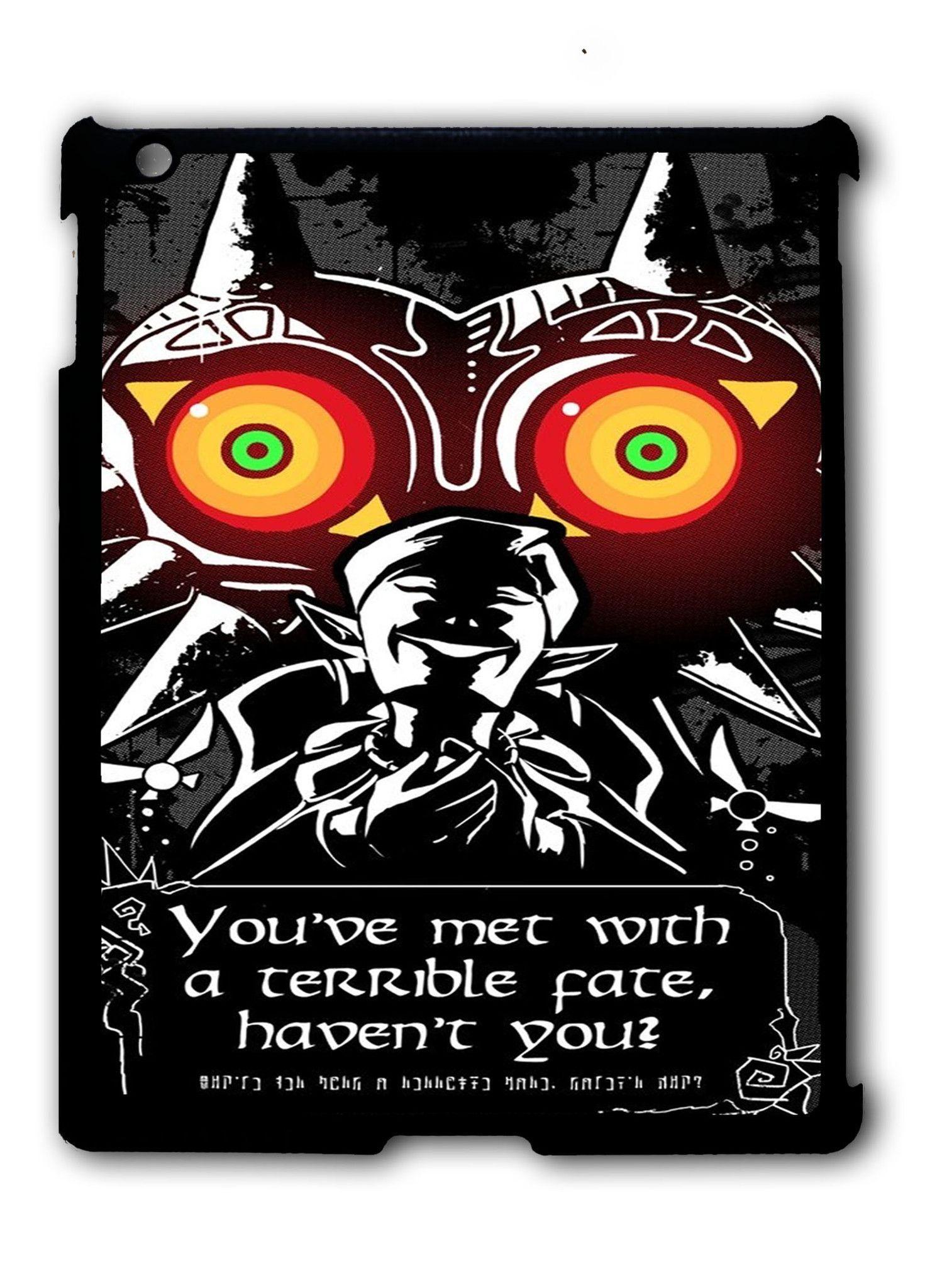 Legend Of Zelda Majoras Mask Quote iPad 2 3 4, iPad Mini 1 2 3 ...