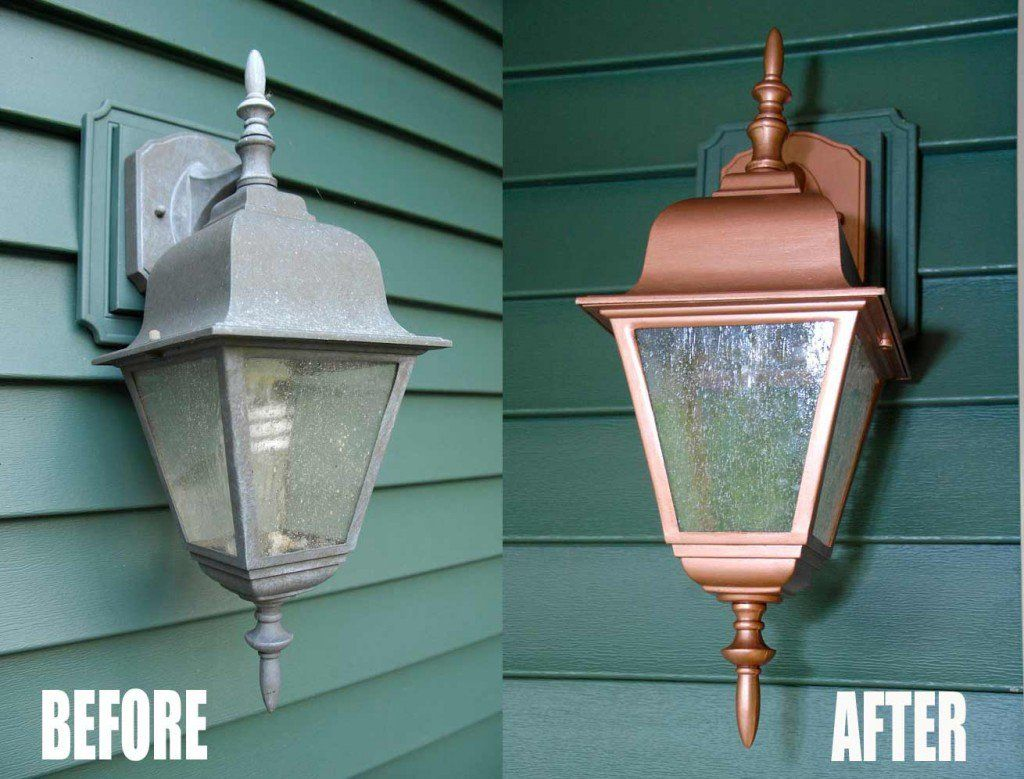15 clever ways to add curb appeal without breaking the bank crazy more thrifty exterior light makeovers curb appeal painting here s a side by side comparison arubaitofo Choice Image
