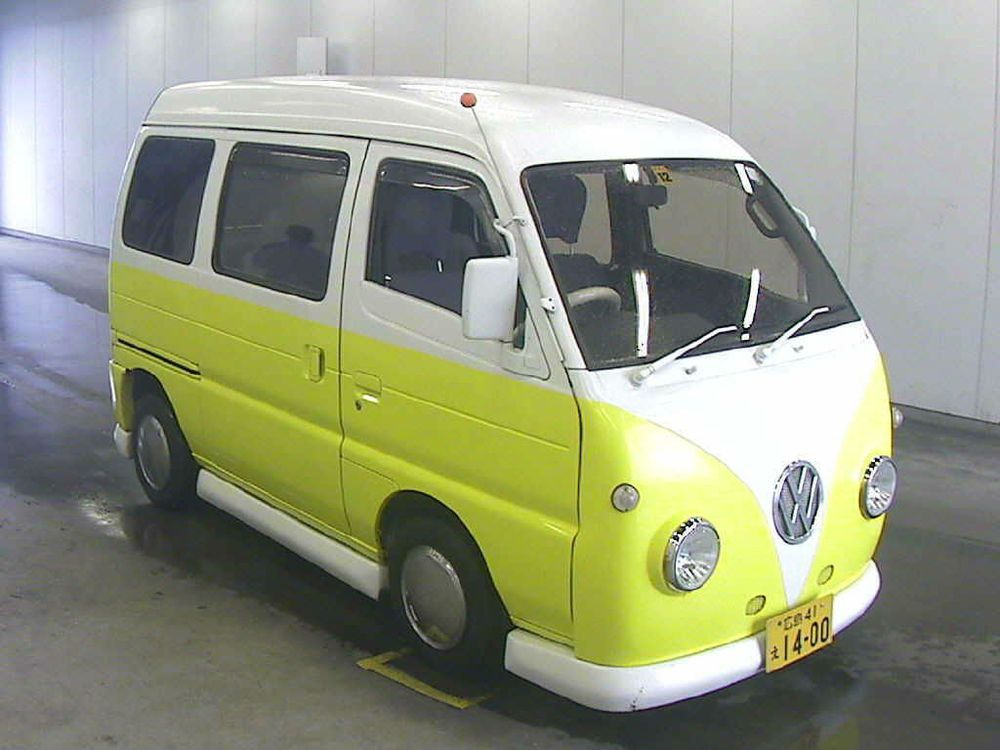 Mazda scrum auto subaru vw sambar vintage mini camper replica ...