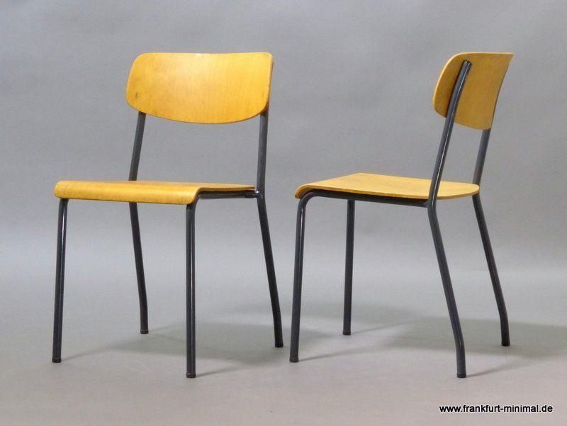Ferdinand Kramer Eron Stuhl Goethe Universitat Frankfurt Vintage Mobel Stuhle Furniture